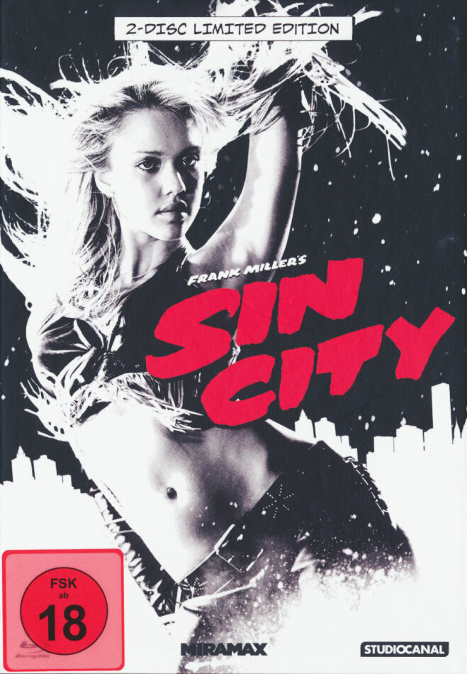 Sin City (2005) (Kinofassung & Recut-Version, Limited Edition, Mediabook)