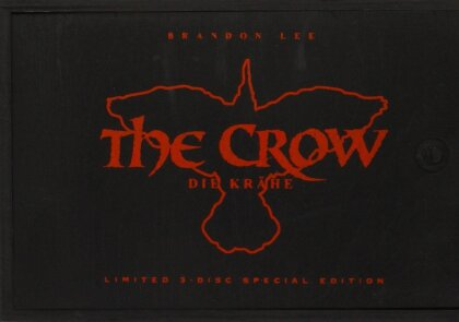 The Crow (1994) (Special Edition, Uncut, Limited Edition, Mediabook, Holzbox, Blu-ray + DVD + CD)
