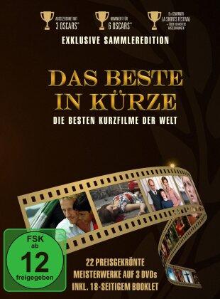 Das Beste in Kürze - Die besten Kurzfilme der Welt (Digibook, 3 DVD)
