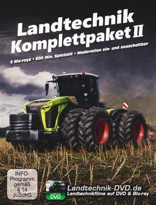 Landtechnik Komplettpaket 2 - Grossflächentechnik im Fokus (5 Blu-rays)