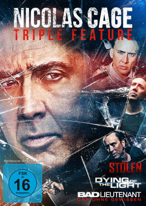 Nicolas Cage - Triple Feature (3 DVDs)