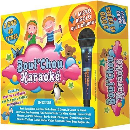 Karaoke - Bout'Chou Karaoke - + 1 Micro rigolo qui s'allume (3 DVDs)