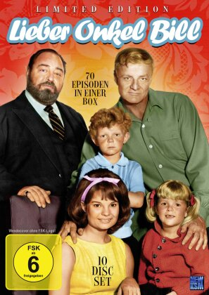 Lieber Onkel Bill - 70 Episoden in einer Box (Limited Edition, 10 DVDs)