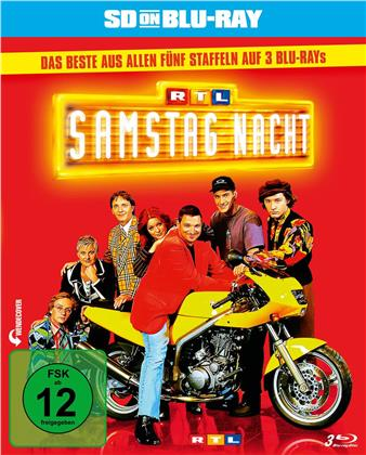 RTL Samstag Nacht - Das Beste aus Staffel 1-5 (3 Blu-rays)