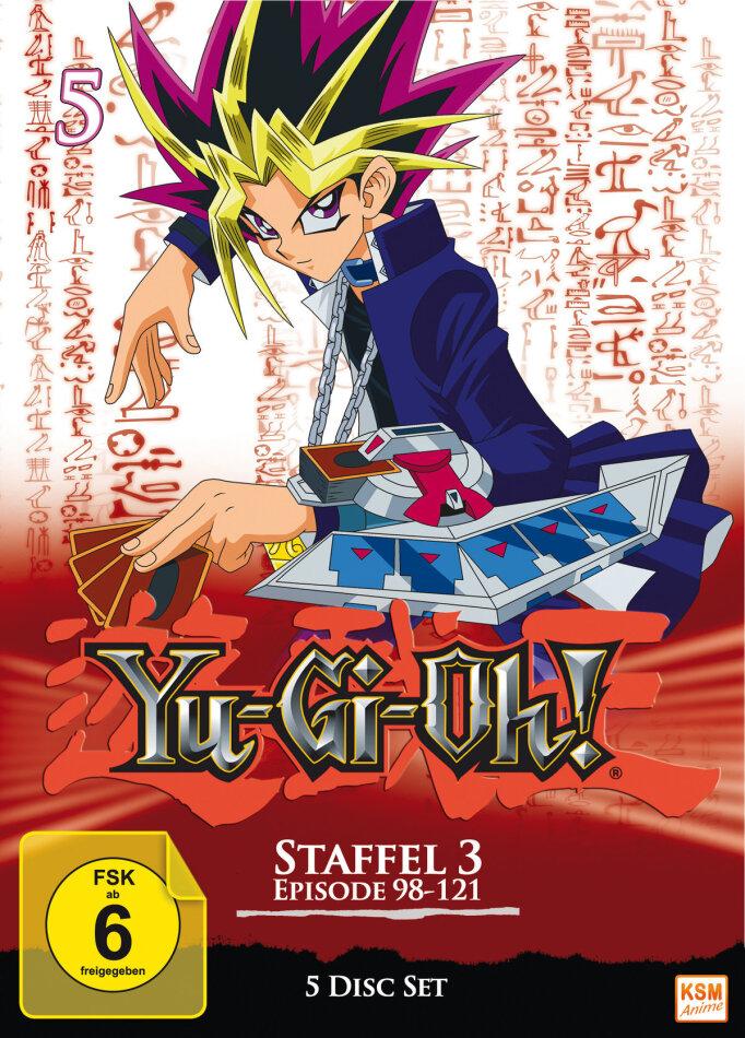 Yu-Gi-Oh! - Box 5 - Staffel 3.1 (5 DVDs)