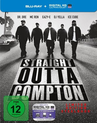 Straight Outta Compton (2015) (Director's Cut, Edizione Limitata, Steelbook)