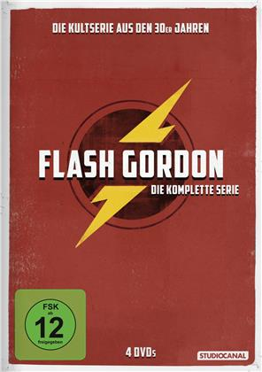 Flash Gordon - Die komplette Serie (s/w, 4 DVDs)