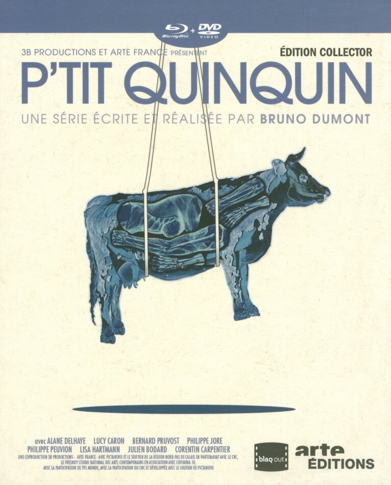 P'tit Quinquin (2014) (Collector's Edition, 2 DVDs + Blu-ray)