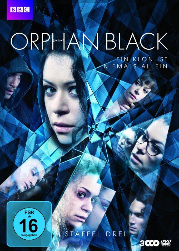 Orphan Black - Staffel 3 (BBC, 3 DVD)
