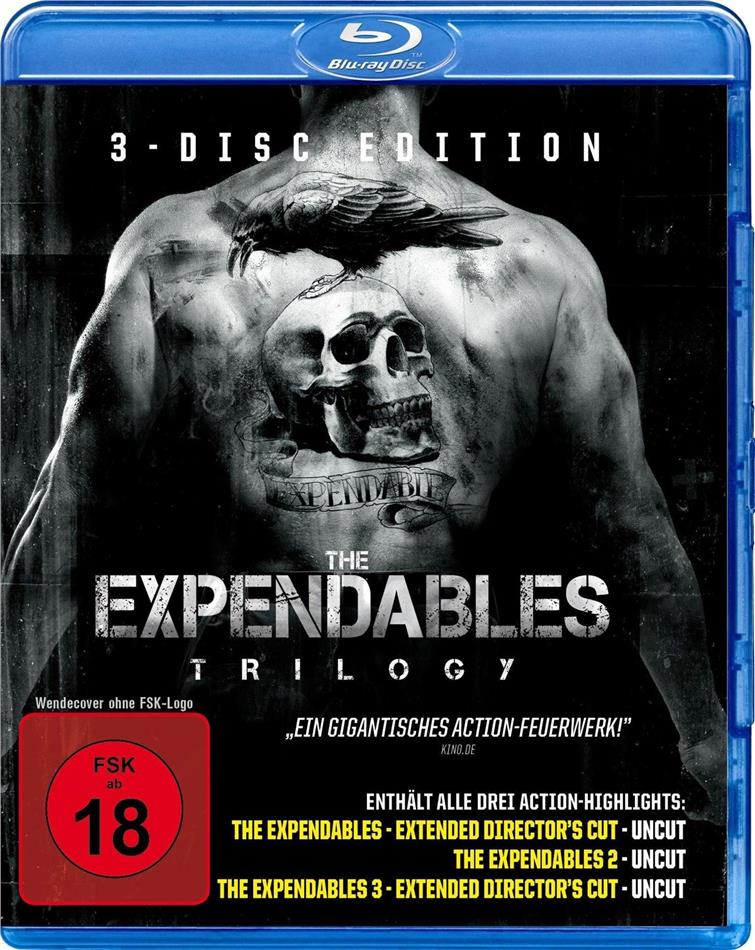 The Expendables Trilogy (Uncut, 3 Blu-rays)
