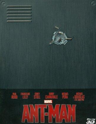 Ant-Man (2015) (Limited Edition, Steelbook, Blu-ray 3D + Blu-ray)