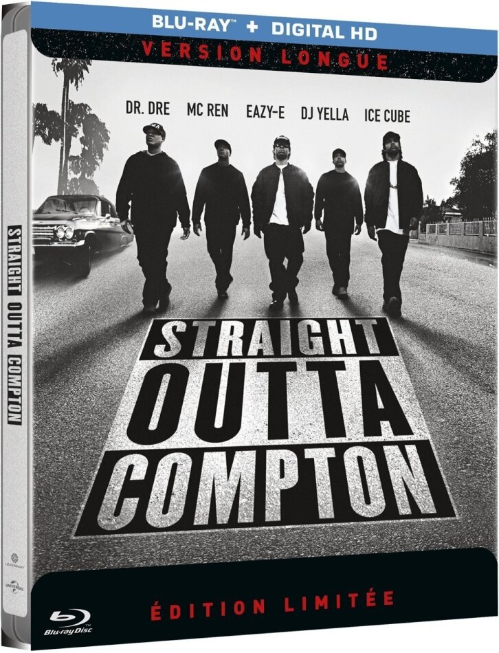 N.W.A. - Straight Outta Compton (2015) (Limited Edition, Langfassung, Steelbook)