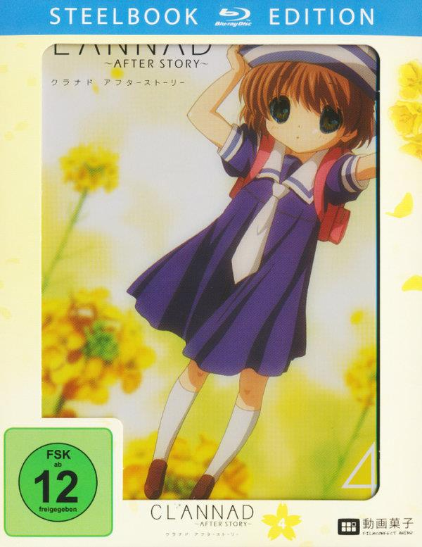 Clannad After Story - Vol. 4 (+ Plüsch Baby Dango, Limited Edition, Steelbook)