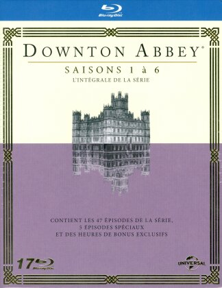 Downton Abbey - Saisons 1-6 (17 Blu-rays)