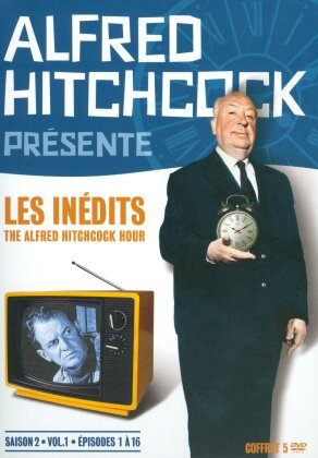 Alfred Hitchcock présente - Les inédits - The Alfred Hitchcock Hour - Saison 2, vol. 1, épisodes 1 à 16 (b/w, 5 DVDs)