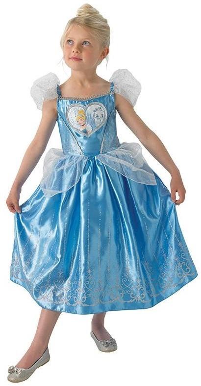 Cinderella Kleid Deluxe [128] - Grösse 128