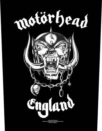 Motörhead: England - Rückenaufnäher