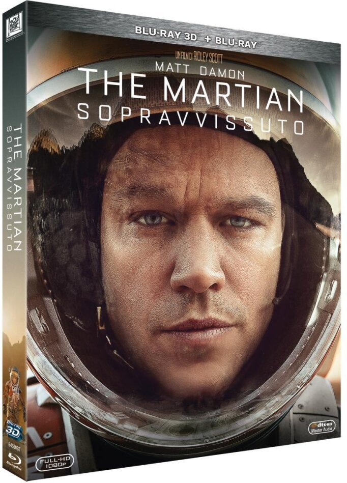 The Martian - Sopravvissuto (2015) (Blu-ray 3D + Blu-ray)