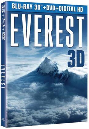 Everest - Everest (3PC) (W/DVD) / (Wbr) (2015) (Blu-ray + Blu-ray 3D + DVD)