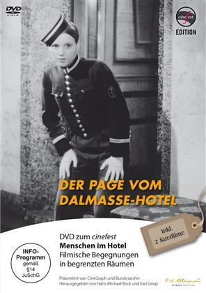 Der Page vom Dalmasse-Hotel (1933) (s/w)