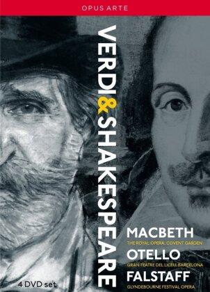 Various Artists - Verdi - The Shakespeare Operas - Macbeth / Otello / Falstaff (Opus Arte, 4 DVDs)