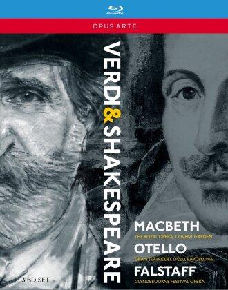 Various Artists - Verdi - The Shakespeare Operas - Macbeth / Otello / Falstaff (Opus Arte, 3 Blu-rays)