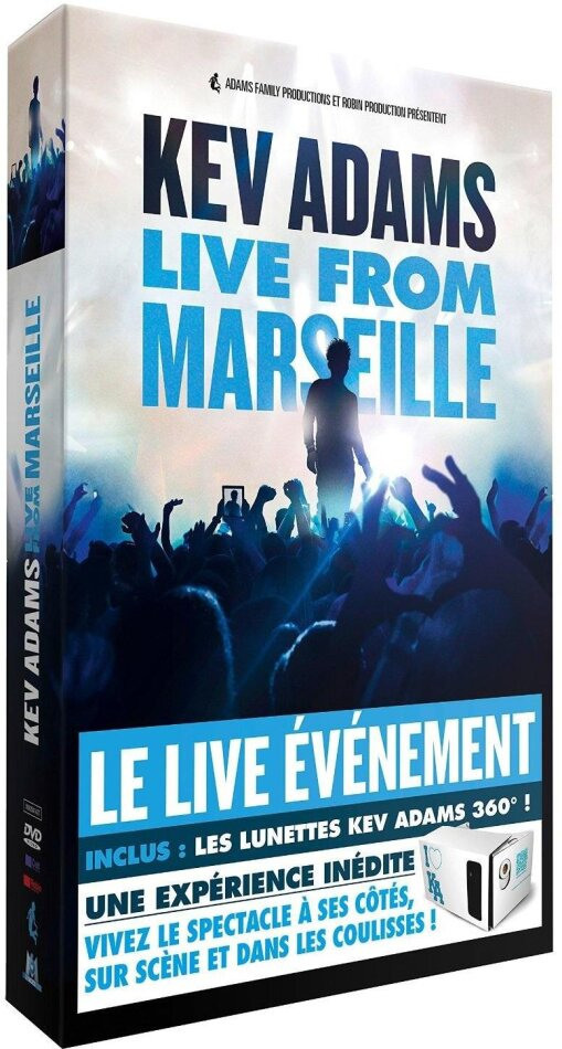 Kev Adams - Live from Marseille (+ kit lunettes, Limited Edition)