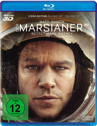 Der Marsianer - Rettet Mark Watney (2015) (Blu-ray 3D + Blu-ray)