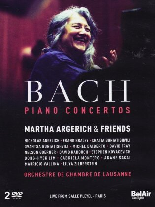 Martha Argerich - Bach - Piano Concertos (Bel Air Classique)