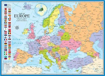 Map of Europe - Puzzle
