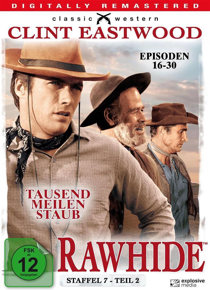 Rawhide - Staffel 7.2 (Remastered, 4 DVDs)