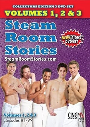 Steam Room Stories - Vol. 1 - 3 (3 DVDs)