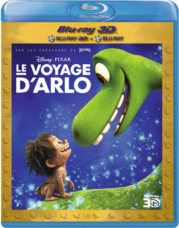 Le voyage d'Arlo (2015) (Blu-ray 3D + Blu-ray)