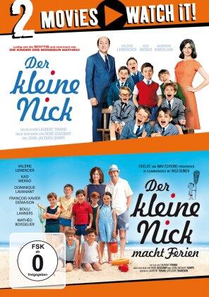 Der kleine Nick / Der kleine Nick macht Ferien (2 DVDs)