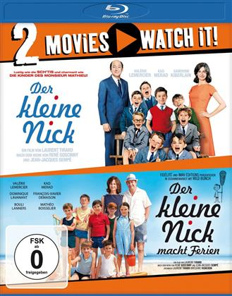 Der kleine Nick / Der kleine Nick macht Ferien (2 Blu-rays)