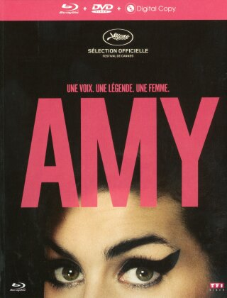Amy - The Girl Behind The Name (2015) (Digibook, Blu-ray + DVD)