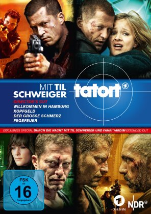 Tatort - Til Schweiger Box (Director's Cut, 4 DVDs)