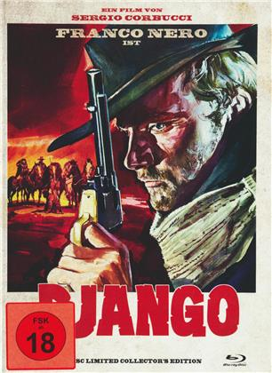 Django (1966) (Cover A, Collector's Edition, Limited Edition, Uncut, Mediabook, Blu-ray + DVD)