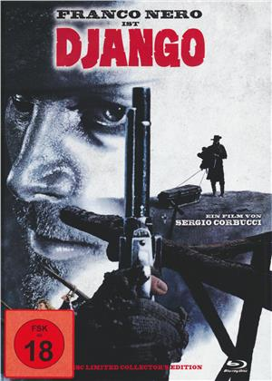 Django (1966) (Cover C, Collector's Edition, Limited Edition, Uncut, Mediabook, Blu-ray + DVD)