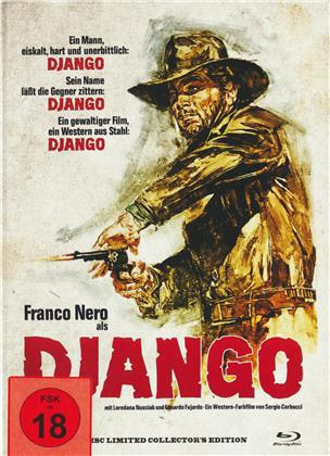 Django (1966) (Cover B, Collector's Edition, Limited Edition, Uncut, Mediabook, Blu-ray + DVD)