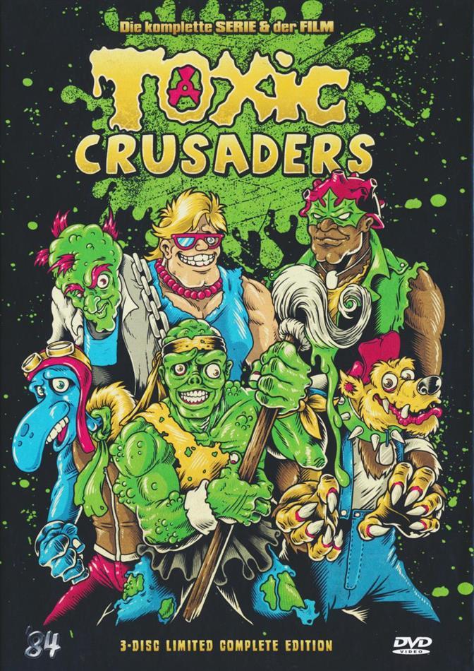 Toxic Crusaders - Die komplette Serie & der Film (Digibook, Limited Collector's Edition, 3 DVDs)