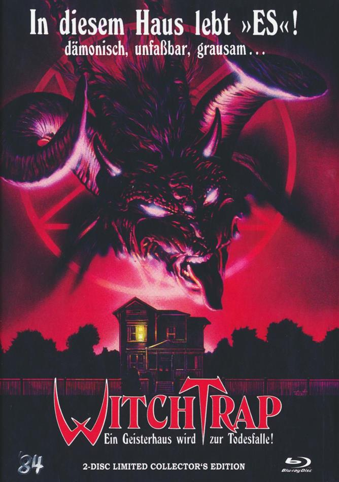 Witchtrap (1989) (Cover A, Limited Collector's Edition, Mediabook, Blu-ray + DVD)