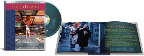 The Fifth Element - (Supreme Cinema Series) (1997) (4K Mastered, Limited Edition, Widescreen)