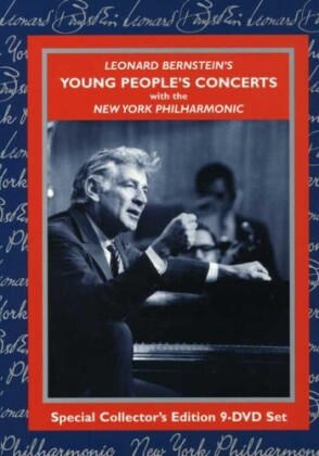 Leonard Bernstein (1918-1990) & New York Philharmonic - Young People's Concert (n/b, Special Collector's Edition, 9 DVD)