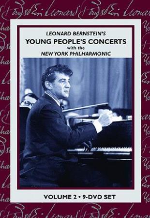 Leonard Bernstein (1918-1990) & New York Philharmonic - Young People's Concert - Vol. 2 (s/w, 9 DVDs)