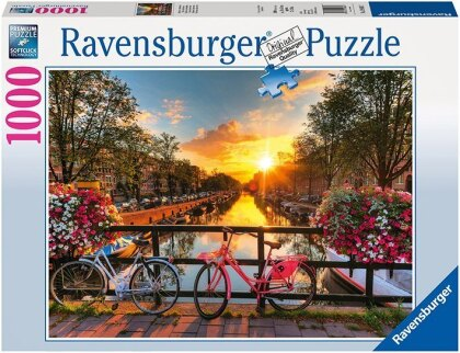 Fahrräder in Amsterdam - Puzzle