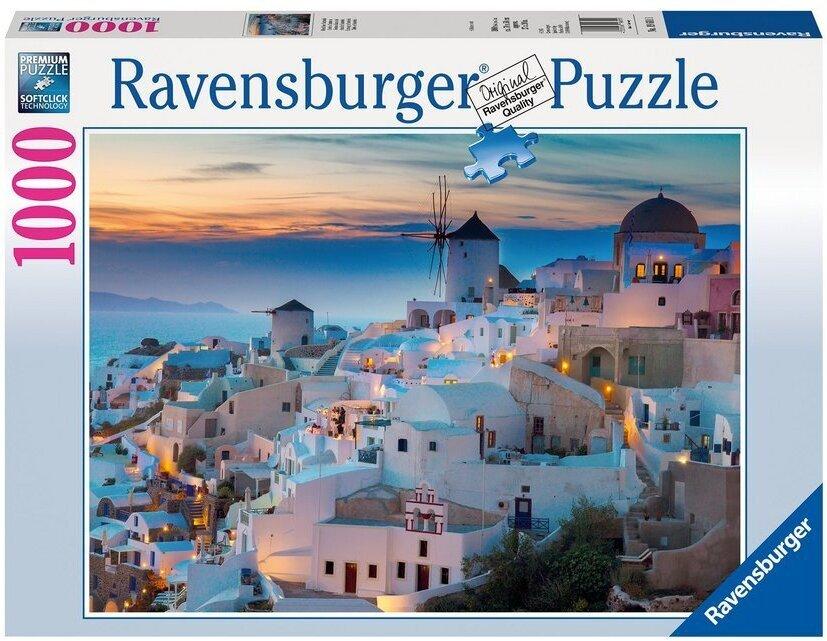 Abend über Santorini - Puzzle