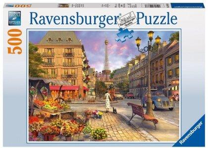 Spaziergang durch Paris - Puzzle
