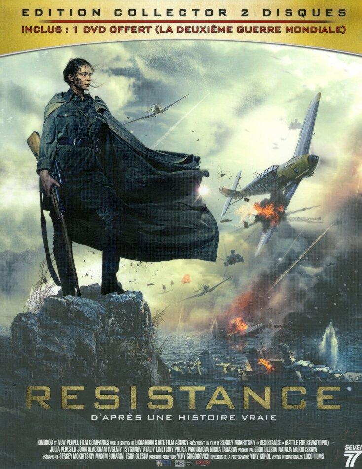 Résistance (2015) (Collector's Edition, Blu-ray + DVD)
