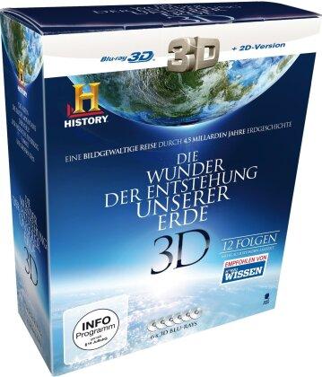 Die Wunder der Entstehung unserer Erde (6 Blu-ray 3D (+2D))